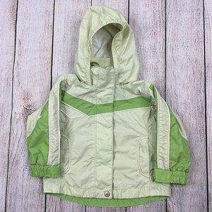 Columbia Hooded Windbreaker Jacket Toddler Fall